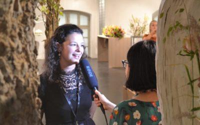 Floristikausstellung im Salzlager: Das sagen Absolventen und Besucher