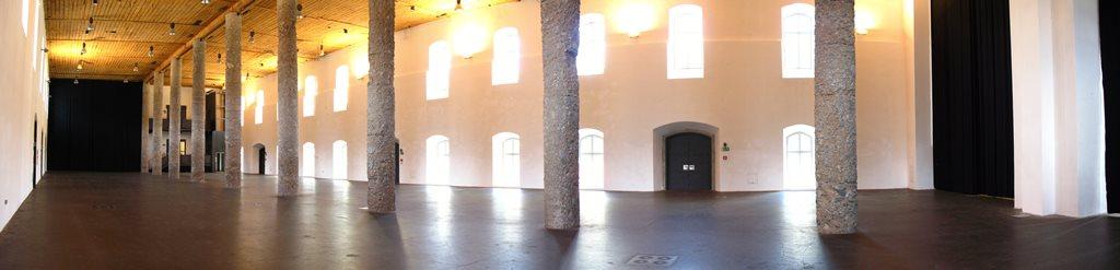 Säulenhalle im Salzlager