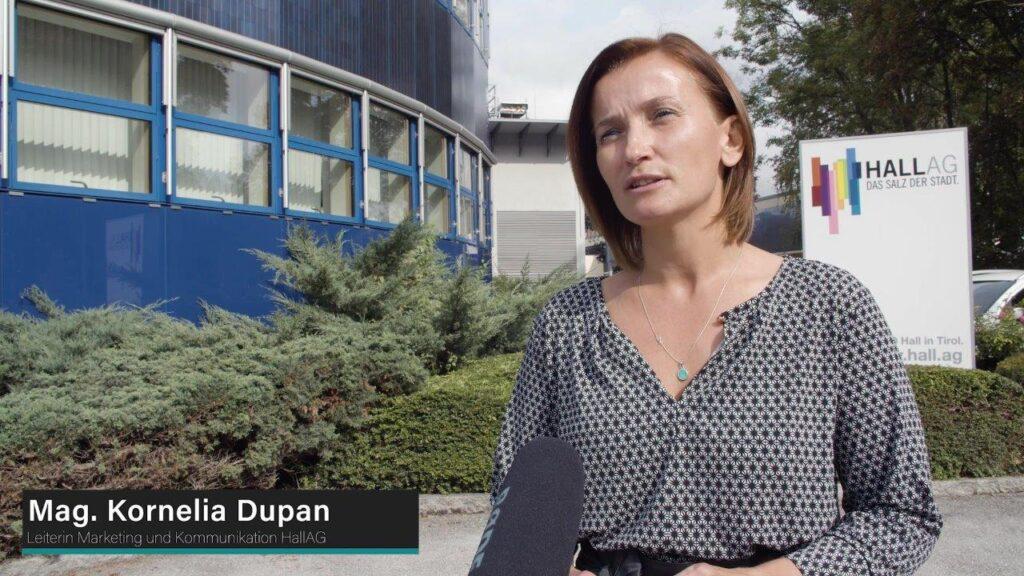 Kornelia Dupan,  Marketingleiterin der HALL AG.